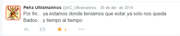 LARA CREAZIONE TWITTER ULTAMARINOS