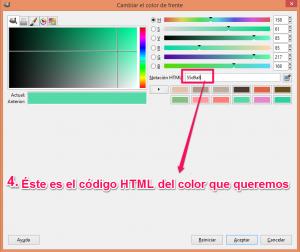 CREAZIONE COLOR CÓDIGO HTML  (4)