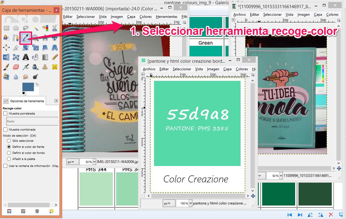 4 pasos para obtener el código HTML de cualquier color – Lara Gracia ...